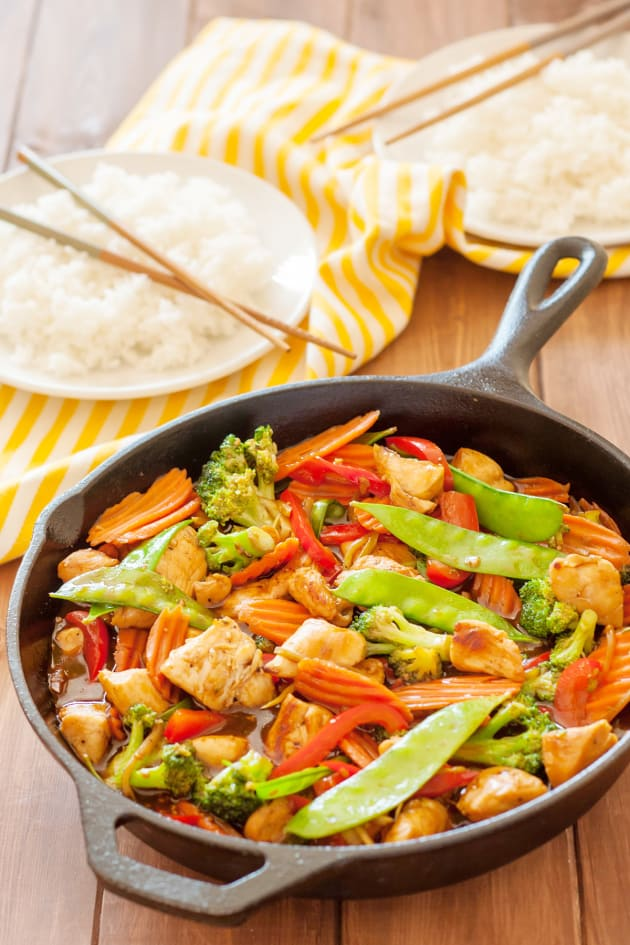 Food Network Stir Fry Chicken And Vegetables