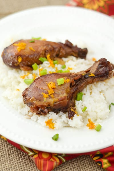 Slow Cooker Orange Chicken Picture