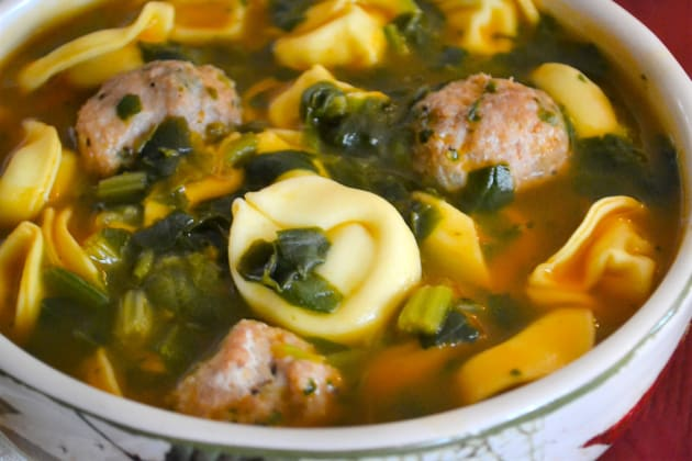 Meatball Tortellini Soup Pic