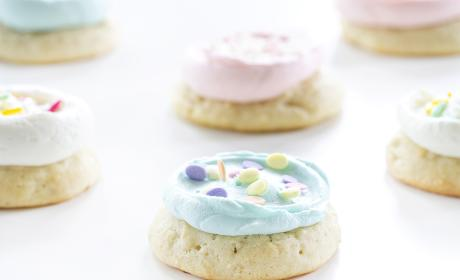 Soft Frosted Sugar Cookies Recipe
