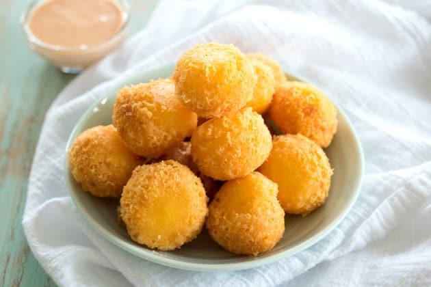 Fried Cheese Balls Photo
