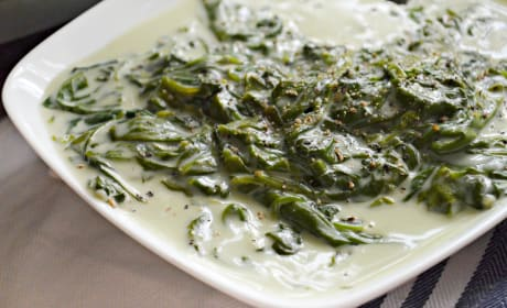 Slow Cooker Creamed Spinach Recipe