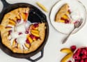 Peach Raspberry Galette Recipe
