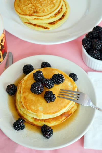 Lemon Ricotta Pancakes Picture
