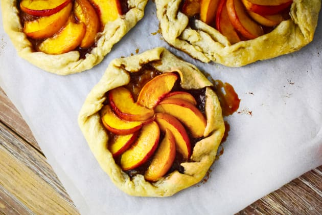 Bourbon Peach Galette Photo