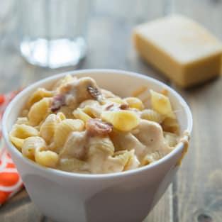 Healthy mac and cheese photo