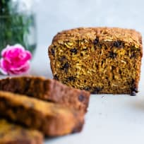 Gluten Free Turmeric Chocolate Chip Bread Recipe