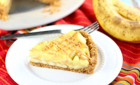 Peanut Butter Banana Pudding Tart Recipe