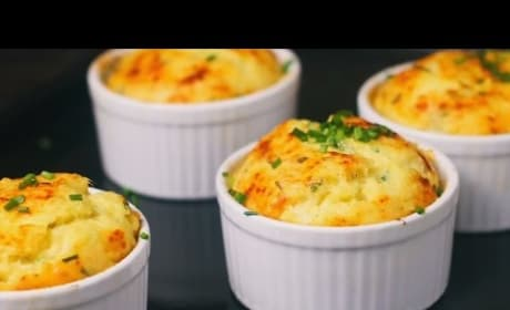 How to Make Potato Soufflé