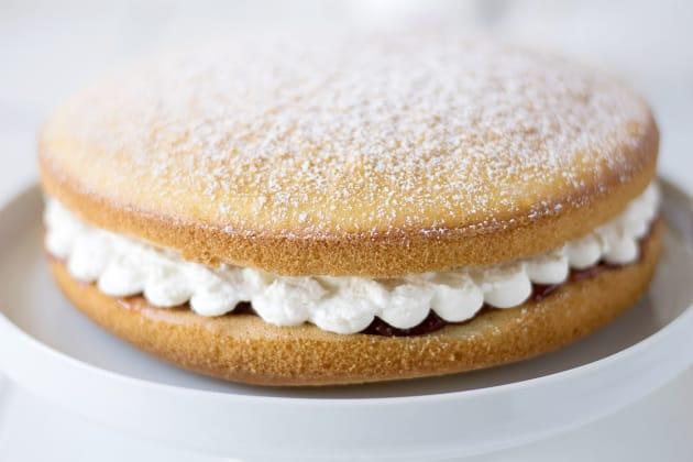 Victoria Sponge Cake Photo
