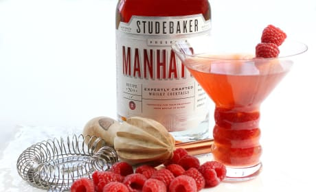 Raspberry Manhattan Recipe