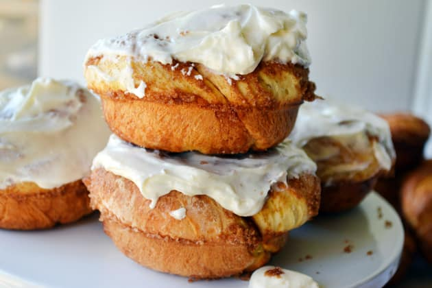 Cinnamon Roll Donuts Pic