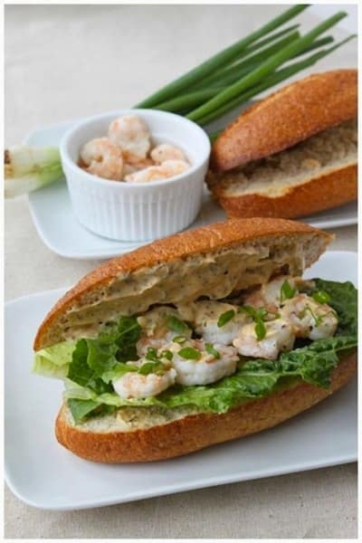 Shrimp Po Boy Photo