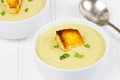 Roasted Cauliflower Soup
