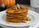 Whole Grain Pumpkin Pancakes Recipe