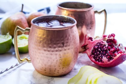 Pear Pomegranate Mule