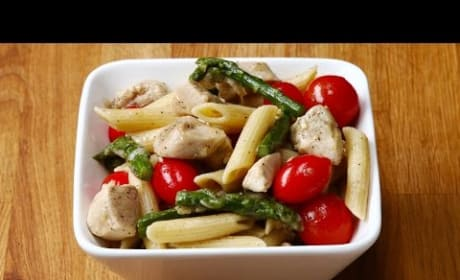 How to Make Chicken and Asparagus Pasta