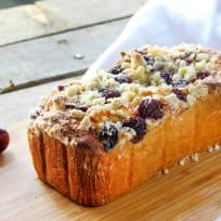Cherry Cream Crumb Cake Recipe