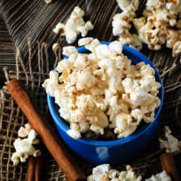 Cinnamon Roll Popcorn Recipe