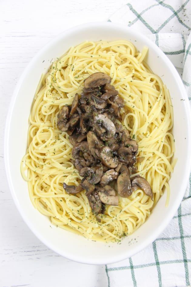 Mushroom Pasta Pic