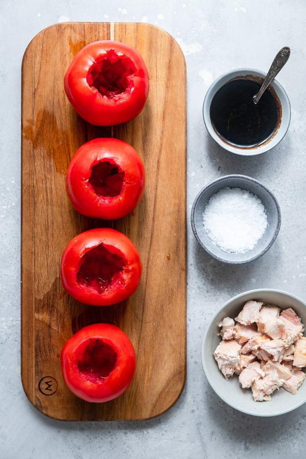 Tuna Stuffed Tomatoes Image