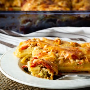 Turkey manicotti photo