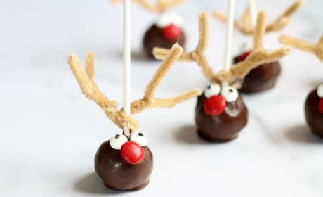 Reindeer Cake Pops Photo