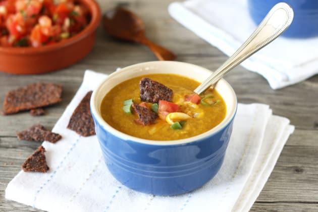 Corn Poblano Soup Photo