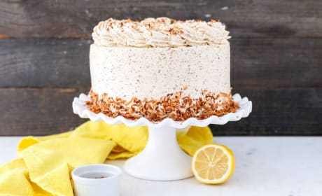 Lemon Coconut Cake Photo