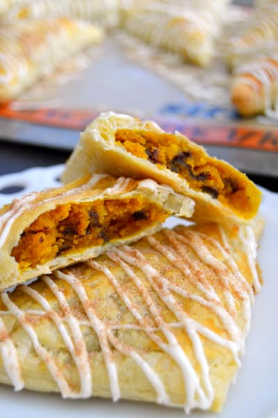 Pumpkin Cookie Dough Turnovers Picture