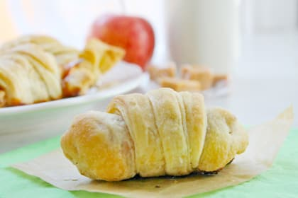 Caramel Apple Croissants