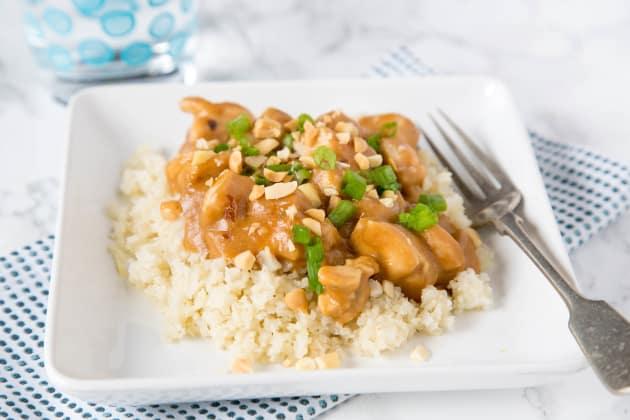 Chicken Satay Stir Fry Photo
