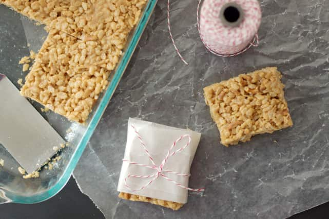 Peanut Butter Rice Krispie Treat Recipe