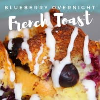 Overnight Blueberry French Toast – Dairy Free