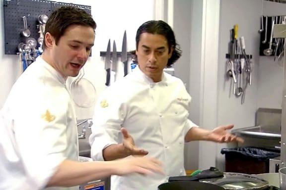 Couple Top Chefs