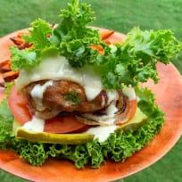 Bun-less Turkey Burger