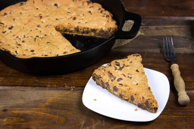 Cast Iron Chocolate Chip Cookie Image