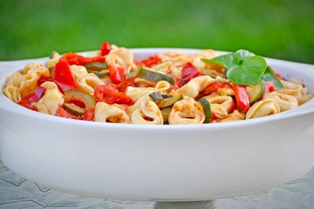 Roasted Vegetable Tortellini Photo