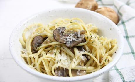 Mushroom Pasta Photo