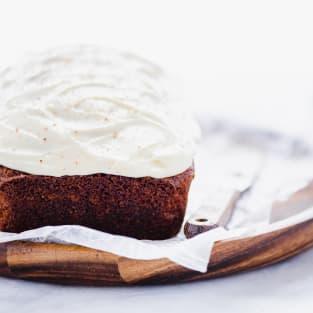 Gluten free eggnog bread photo