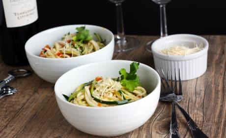 Zucchini Ribbon Salad Image