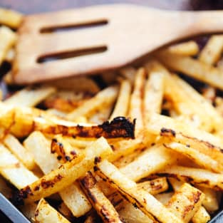 Jicama fries picture
