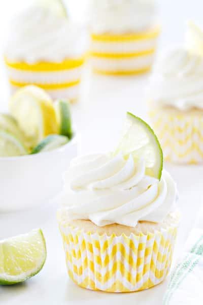 Lemon Lime Cupcakes Picture