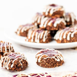 Healthy thumbprint cookies photo