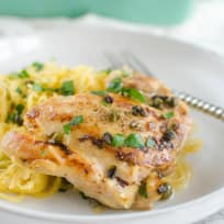 Paleo Chicken Piccata Recipe