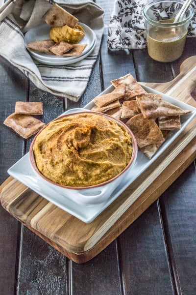 Curry Hummus with Sweet Potato Picture