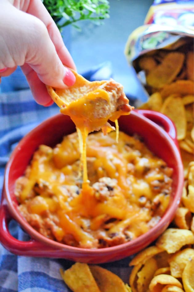 Slow Cooker Chili Cheese Dip Picture