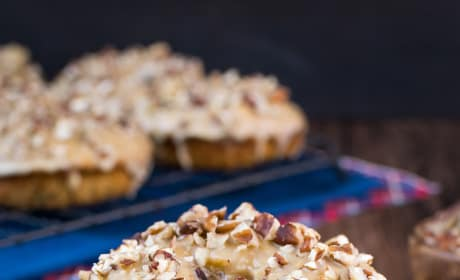 Apple Praline Donuts Image