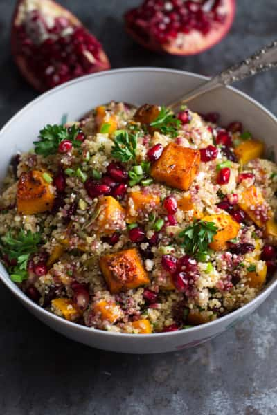 Roasted Butternut Squash Quinoa Salad Picture