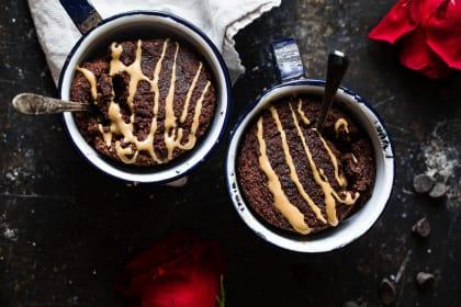 Coconut Flour Chocolate Paleo Mug Cake